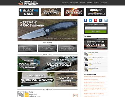 Knife Informer Review Blog ~ Webfolio