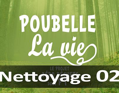 Poubelle La Vie - Nettoyage 02