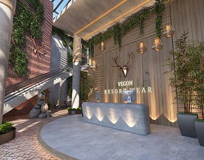 Reception and lobby Resort