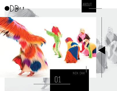 Prototype Art Website