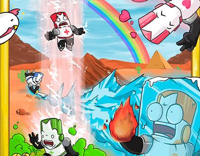 Castle Crashers (Fan-art)