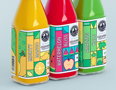 SMOOTHIE FACTORY | packaging redesign