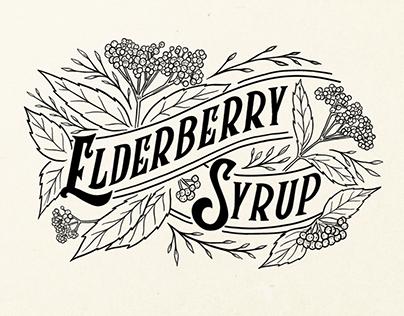 Elderberry Syrup Packaging