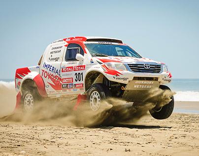 Race the Dakar in an Email