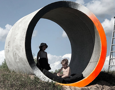 """ATOMIC BEACH"" LAND-ART PARK. ARCHITECTURAL PROJECT"