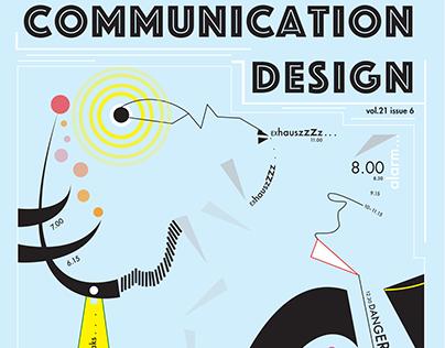 Communication Design Magazine Cover