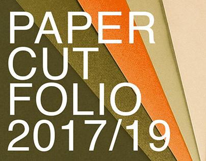Paper-cut folio 2017-2019
