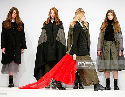 LONDON GRADUATE FASHION WEEK 2015