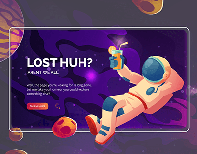 Better 404 Error Page UX