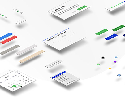UI Library and UX Design