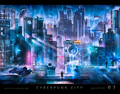 Cyberpunk city 2 :Blade runner