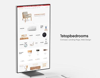 Furniture – Website Concept