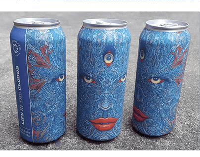 Collective Arts Brewing: Beer Can Designs