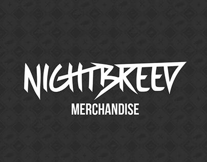 NIGHTBREED RECORDS / MERCHANDISE DESIGN