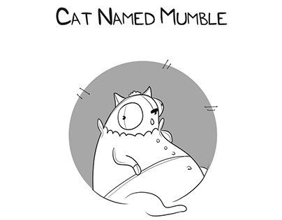 Character Design: Cat Named Mumble