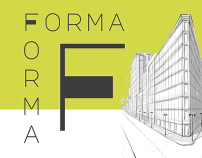 Web design and branding for Forma
