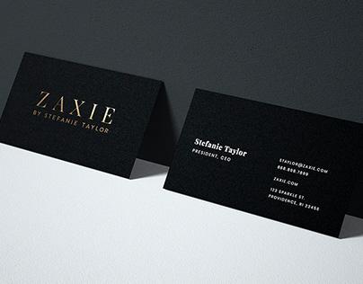 Zaxie by Stefanie Taylor // Jewelry Branding