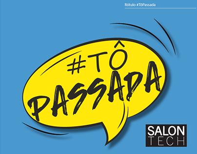 Rótulo #Tôpassada