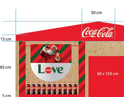 Christmas zone for Coca-Cola Armenia