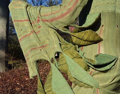 Mimosa Pudica Leaf Dress