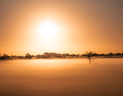 Australia wakes up in the mist - Avril 2019