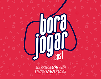 Bora Jogar Cast | Identidade Visual