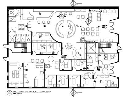 Chiropractic Clinic Floor Plan