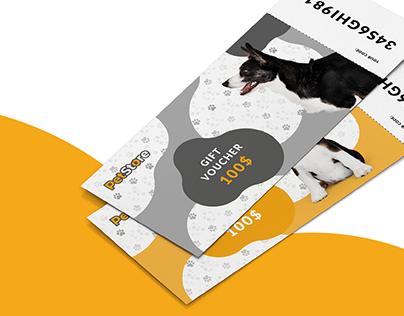 PetStore - pet shop brand concept