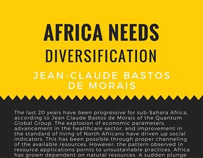Africa Needs Diversification
