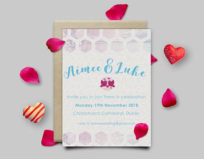 Wedding RSVP Invites