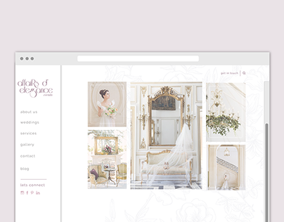 Affairs D' Elegance Website Design