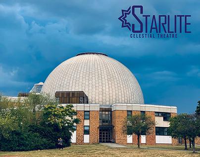 Starlite Celestial Theatre - Identity & UI Design