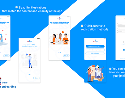TakeCare - online experience between doctor and patient