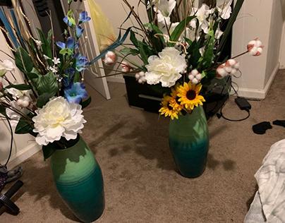Revived some flower vases