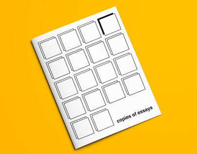 Type Book: Copies of Essay