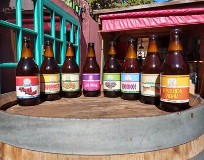 Etiquetas para Cabrona Cerveza Artesanal