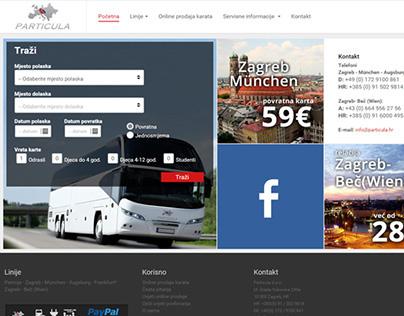Particula.hr - online bus tickets