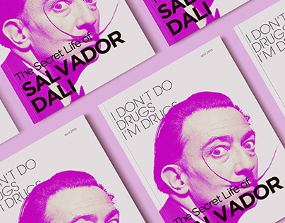 Editorial design for Salvador Dali