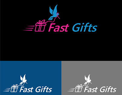 Fast Gifts Logo Design