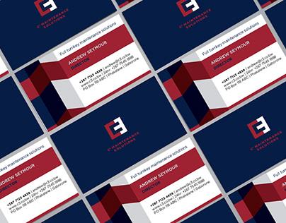 C3 Business Card Design