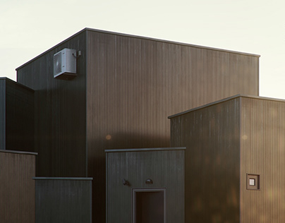 House O - Full 3D scene