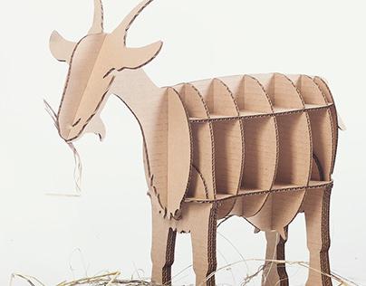 Декоративная коза