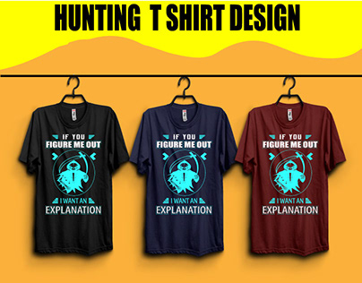This is new figure Hunting t shirt