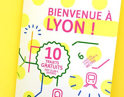 Identité graphique campagne KEOLIS Lyon TCL