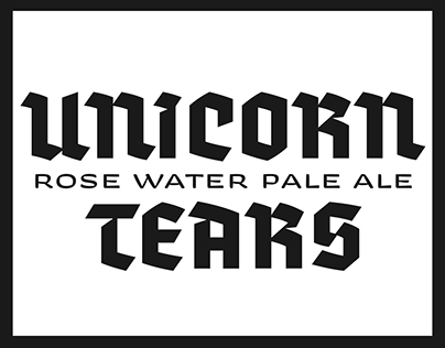 Unicorn Tears | Beer Label