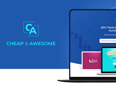 SEO Landing Page Design - Cheap & Awesome - SEO Tools