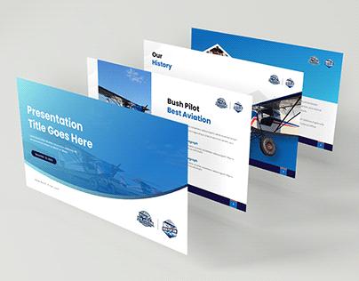 Aviation Presentation Template