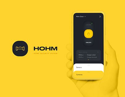 HOHM - Home Security System [Product Concept]