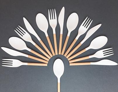 Wood&Plastic Cutlery