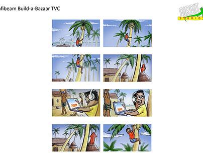 Infibeam Build-a-bazar TVC - Storyboard